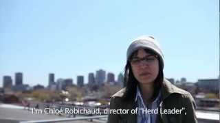 Chloé Robichaud discute Chef de meute / Chloé Robichaud talks Herd Leader