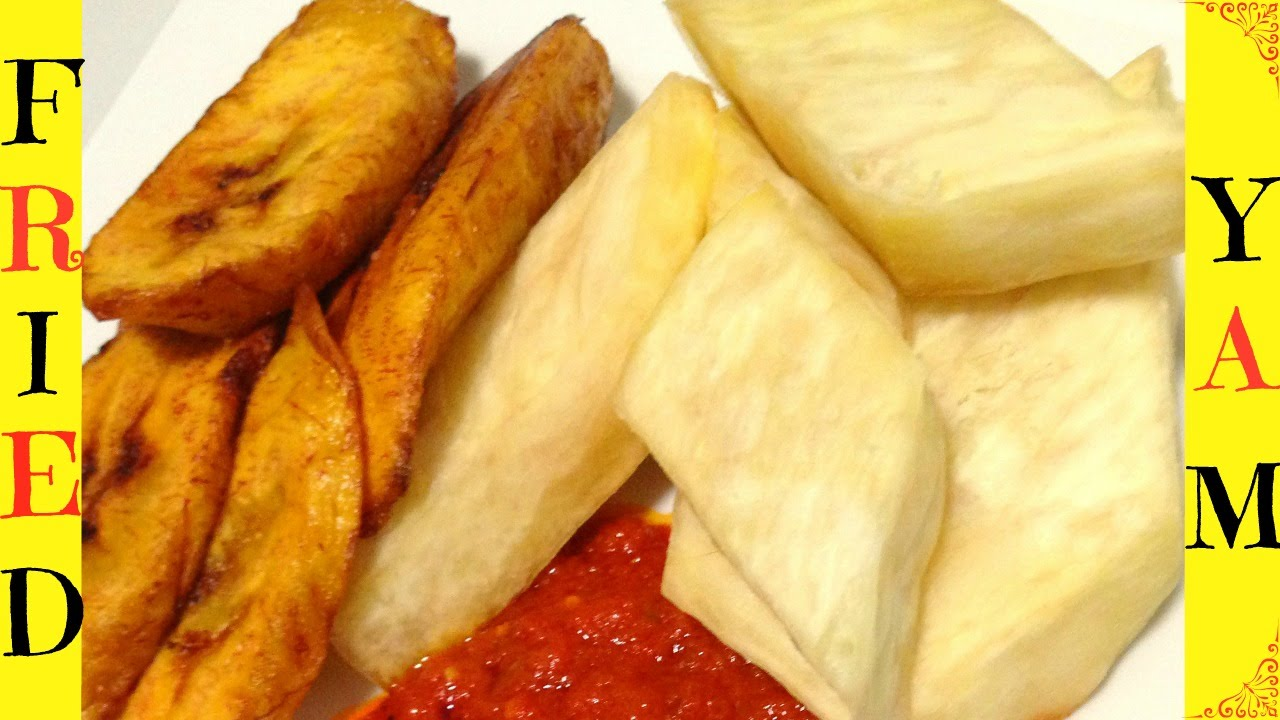 How To Make Fried Yam