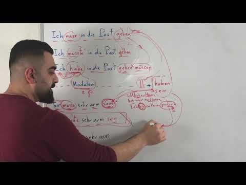 السلسلة الاخيرة لتعلم قواعد الالمانية (6) -  (Subjektiver Gebrauch der Modalverben (2