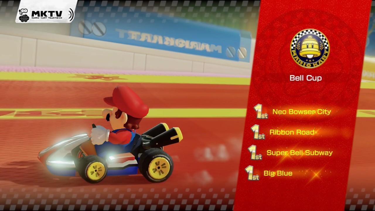 Mario Kart 8 Deluxe Gold Standard and Gold Mario Unlock ...