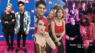 VLOGSQUAD AT THE VMAs 2018 (Instagram and Snapchat stories) Video