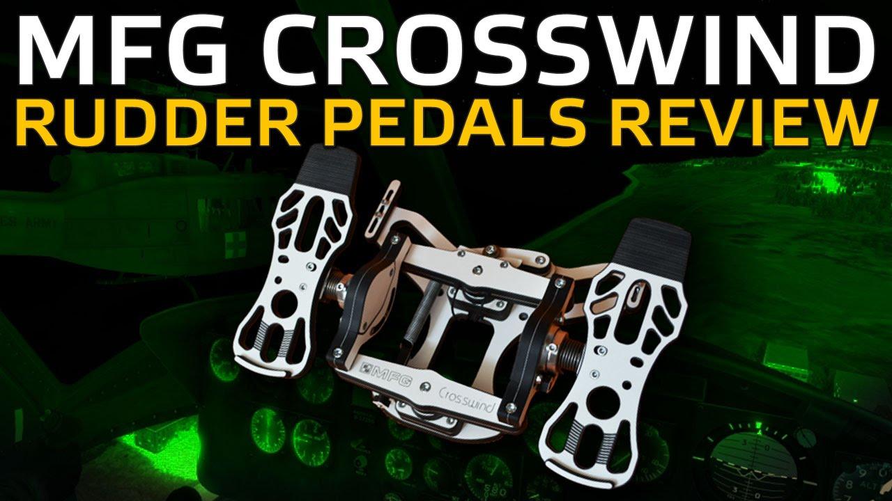MFG Crosswind Rudder Pedals Review