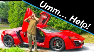 First drive | Lykan Hypersport build #16 from Fast and the Furious Live Stunt Car