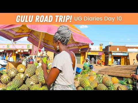 EP #95 | DAY 10 - ROAD TRIP TO GULU!!! NO POT HOLES YAY! 🎶 Single But not Searching 🎶