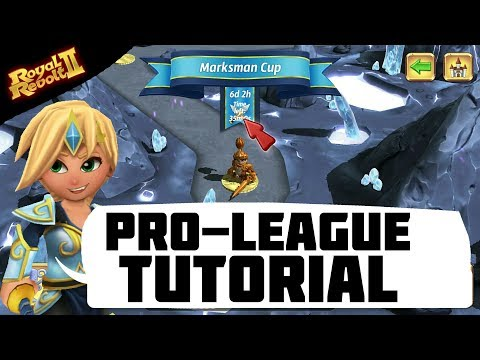 ROYAL REVOLT 2 - PRO LEAGUE TUTORIAL (AND GAMEPLAY!)