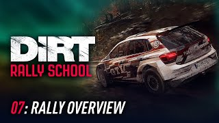 Lesson 07: Rally Overview - DiRT Rally School