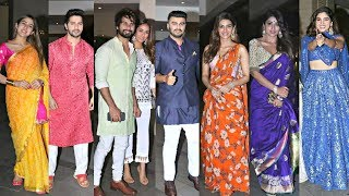 Bollywood Actors At Jackky Bhagnani Diwali Party 2019