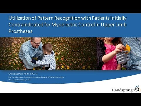 Pattern Recognition in Patients Contraindicated for Myoelectric Control