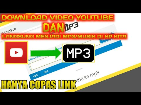 cara download video youtube jadi mp3