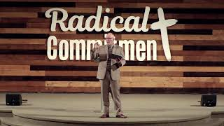 Radical commitment to church attendance