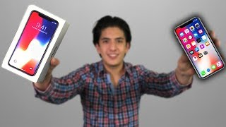 iPHONE X - Unboxing (el mejor)