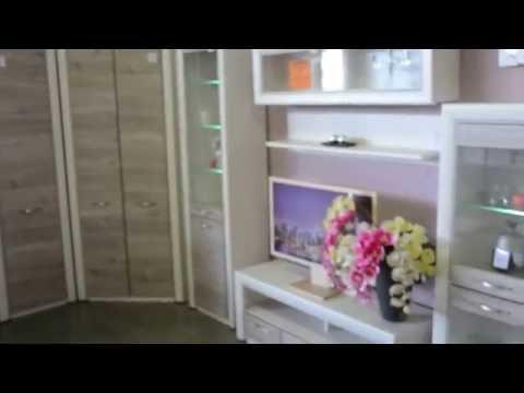 Мебель для гостиной Оливия АНРЕКС: стенка горка с угловым шкафом
