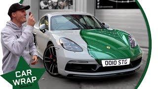 Seen Through Glass Porsche 718 Cayman S Goes Green!
