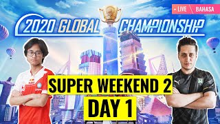 [Bahasa] PMGC 2020 League SW2D1 | Qualcomm | PUBG MOBILE Global Championship | Super Weekend 2 Day 1