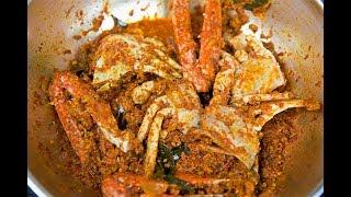 Crab Sukka/Crab with Coconut