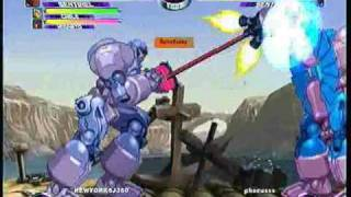 MvC2 Online (360): Josh 360 (Row) vs Phocus (Row) 2 .:1.5.10:.