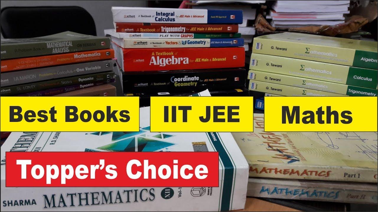 Best Books for IIT JEE Maths   IIT Maths   IIT JEE Maths  