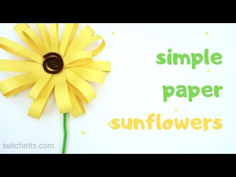 giant-paper-sunflower-craft-for-kids-(or-adults)