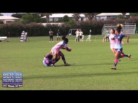 Bermuda Women's Rugby Exhibition, June 4 2016