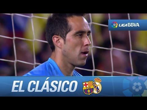 Claudio Bravo fue el salvador del FC Barcelona en El Clásico