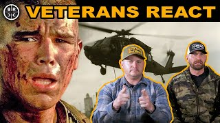 Army Rangers React to MILITARY Movies: EP09