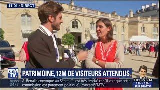 Journées du patrimoine: déjà plus de 7h d'attente pour visiter l'Élysée