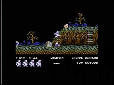 GHOSTS 'N GOBLINS '2015 REMAKE' (C64 - FULL GAME)