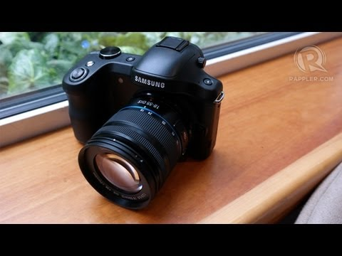 Samsung Galaxy NX hands-on review