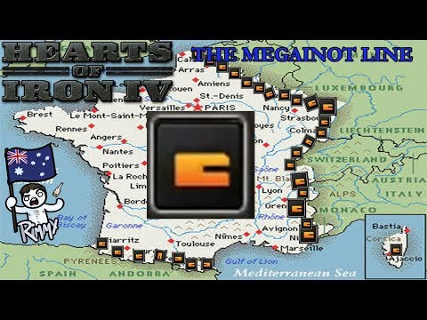 HOI4 - The Megainot Line - The Episode Where Germany Kills Themselves