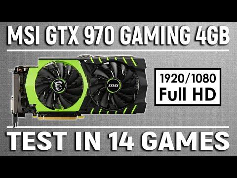 MSI GTX 970 4GB In 2019 | Test In 14 Games (i5 8500) - 1080p