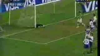 Fluminense x Universidad Católica - falta do Petkovic