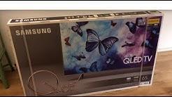 "Samsung 65"" Q6F 4K UHD Smart TV  unboxing"