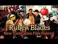 Capture de la vidéo Rubén Blades , Is Not My Name   Un Día En New York Latino Film Festival Vlog