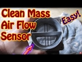 How to Clean \ Replace a Mass Air Flow (MAF) Sensor on Most Vehicles - DIY Chevy Blazer Vortec
