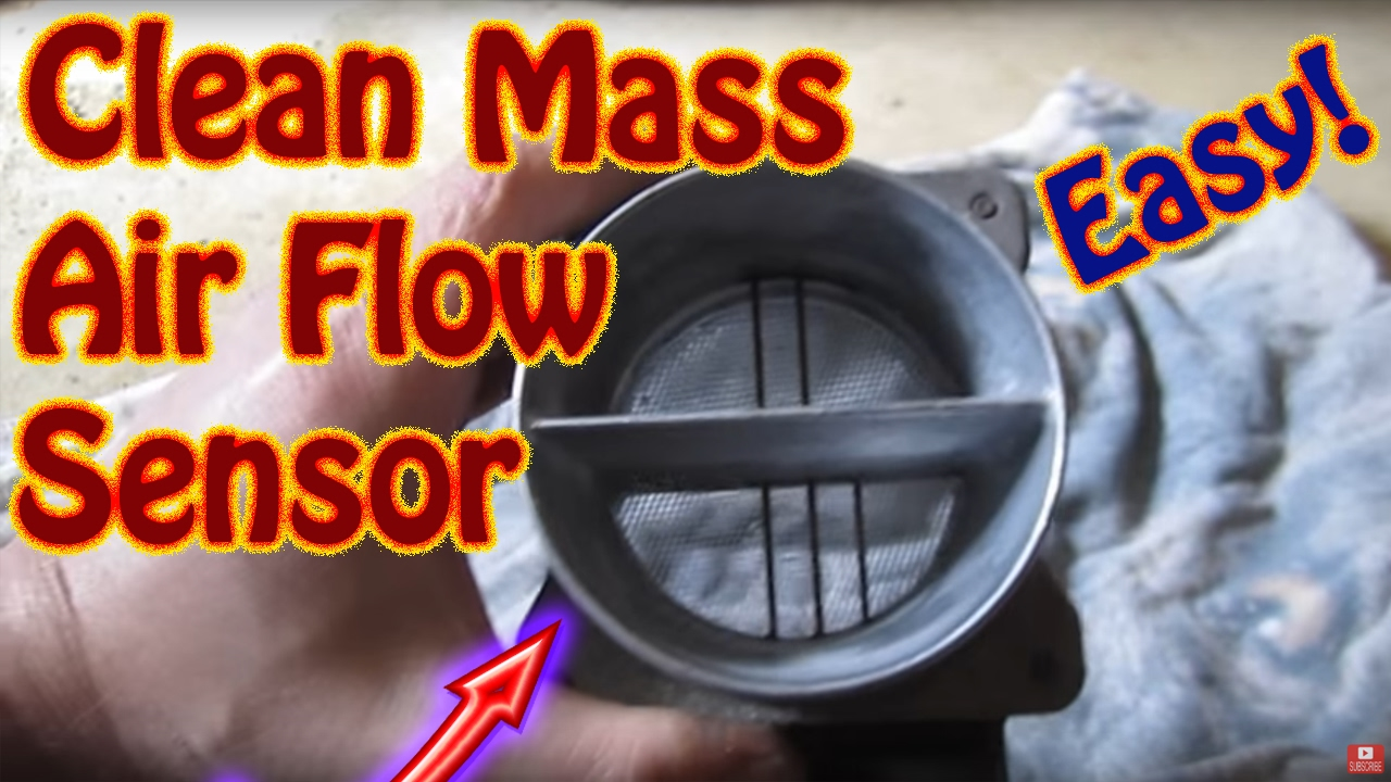 how to clean replace a mass air flow maf sensor on most vehicles diy chevy blazer vortec [ 1280 x 720 Pixel ]