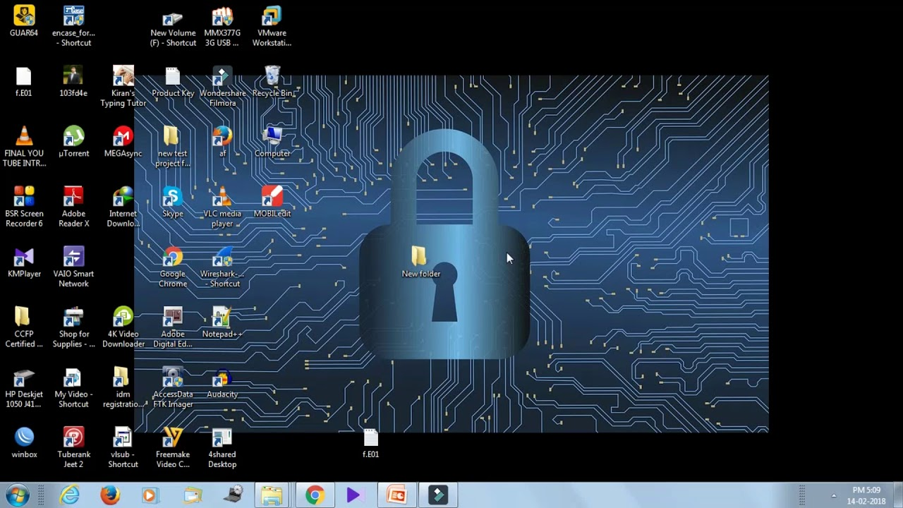 how to use axcrypt to encrypt file and folder