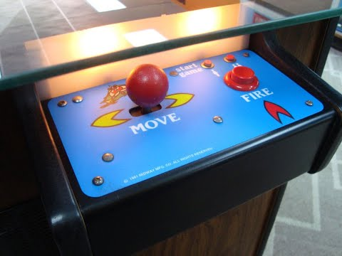 Fixing & Playing Midway's 1981 Galaga Cocktail Table Arcade Game!