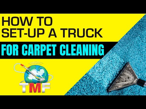 How to set-up a carpet cleaning truck by Rob Allen