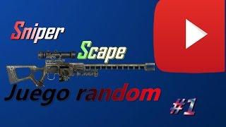 Sniper Escape Juego random |Joaquinkpo031 YT