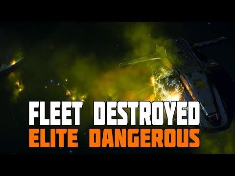 Elite Dangerous - Federation Fleet Destroyed in Thargoid Battle