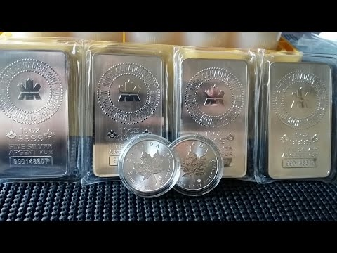 #4 Silver Gold Bull unboxing 114oz's of Silver Bullion Coins & Bars
