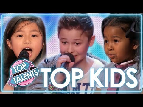TOP Kids Singing Auditions | Celine Tam, Heavenly Joy & MORE! | Top Talents