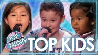 TOP Kids Singing Auditions | Celine Tam,...
