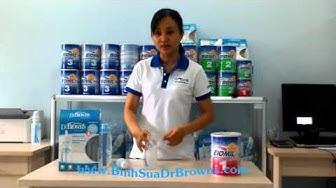 Hướng Dẫn Sử Dụng Bình Sữa Dr Browns