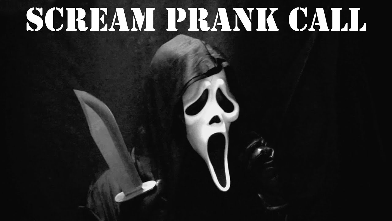 Scream Prank Call, Ghostface Phone Trolling! AMAZING VOICE!