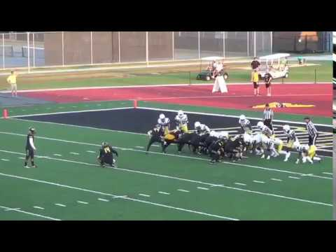 Division III NCAA Texas Lutheran Kicker makes FG after first kick is blocked