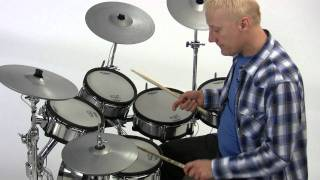 "V-Drums Lesson 50: Gregg Bissonette - ""Texas"" Blues Shuffle"