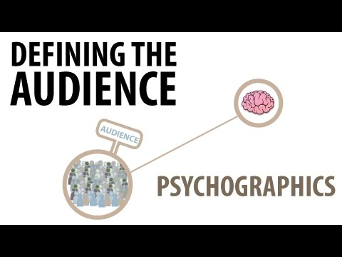 Defining Audience | Psychographics | Media Studies