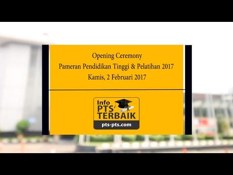 Pameran Pendidikan Tinggi 2017  - Opening Ceremony Oleh Presiden Jokowi