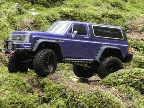 Axial scx10 chevy k5 blazer - Back Country - YouTube